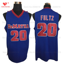 Top DeMatha Catholic HS Stags #20 Markelle Fultz Jersey Throwback Basketball Jersey Vintage Retro Basket Shirts For Men Stitched(China)