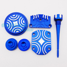 Blue Preformance Engine Dress Up Kit For Lifan Zongshen  YX 50cc 70cc 90cc 110cc Pit Dirt Bike Motorcycle Crass