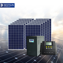 Bestsun Poly Standard Configuration Complete Set of off-grid Solar Power System 5kw for Home(China)