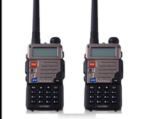 2pcs Pofung Baofeng Walkie Talkie Two Way Radio Vhf Uhf Dual Band FM VOX 128CH Radio Communicator For Baofeng Uv 5re 5w(China)