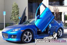 wholesale AUTO LAMBO DOORS for Celica 90-93 Butterfly gate Scissor doors(China)