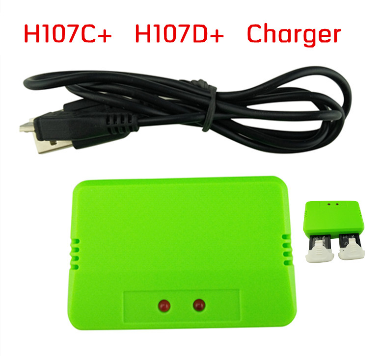 BLL new Hubsan X4 Plus H107C+ H107D+ Quadcopter remote control aircraft accessories upgrade parts 3.7V Battery Charger<br><br>Aliexpress