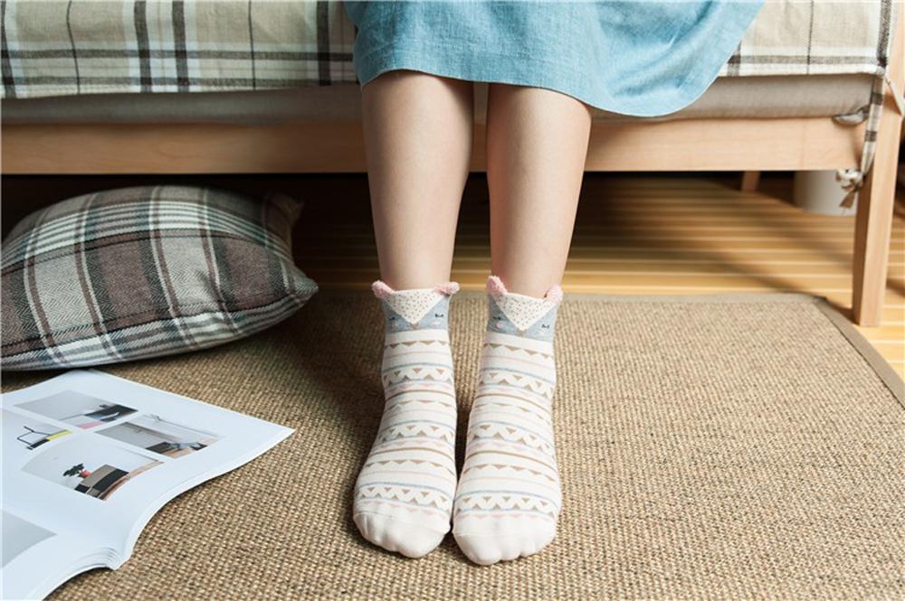 17 New Lovely Cartoon Women Socks High Quality Cotton Sox Japanese Fashion Style Socks Autumn Winter Warm Socks For lady Girls 13
