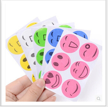 Smiling Face Best Mosquito Natural Repellent Patch Insect bug repellent sticker Camping
