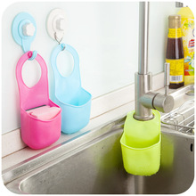 New Arrival Creative Folding Silicone Hanging Storage Holders Kitchen Bathroom Storage Holders & Racks
