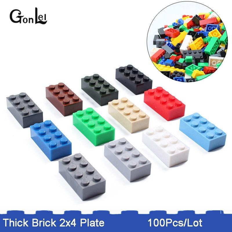 LEGO x 20 Blue Brick 1 x 8 NEW bulk lot 3008