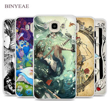 BINYEAE Tattooed Alice in Wonderland Cell Phone Case Cover for Samsung Galaxy J1 J2 J3 J5 J7 C5 C7 C9 E5 E7 2016 2017 Prime(China)