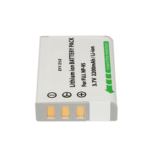 DVISI 2.2Ah NP-95 NP 95 NP95 FNP95 Rechargeable Battery for Fujifilm X30 X100 X100S X100T XS1  FinePix F30 F31 Real 3D W1