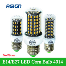 LED Corn Lamp SMD4014 E27 E14 LED Corn Led Bulb High Power 38 55 78 88 140Leds Indoor Light  Replace Compact Fluorescent Lamp