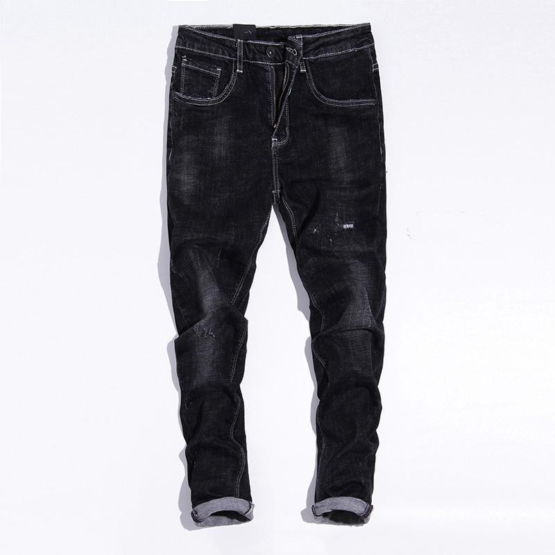 Men s Jeans Loose Straight Youth Pants Casual Pants Autumn Winter Warm Pants fashion cotton warm jeans men long denim trousers Îäåæäà è àêñåññóàðû<br><br>