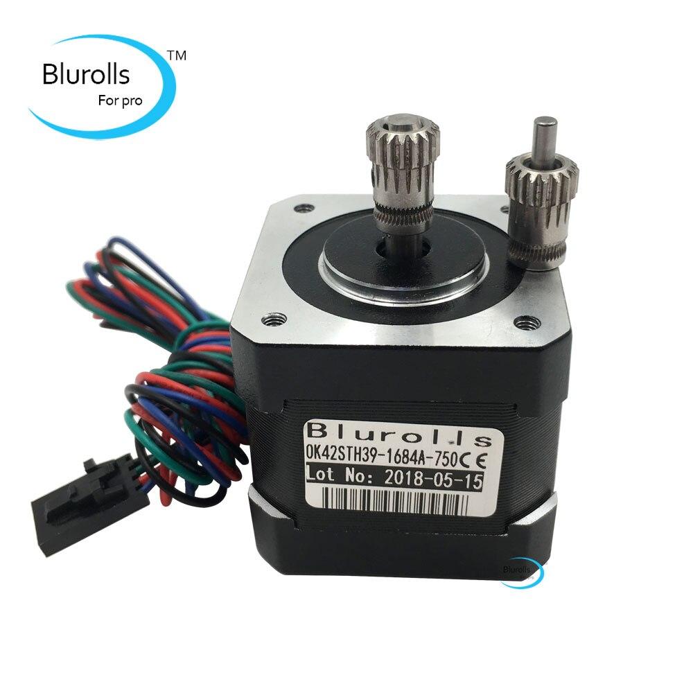 Prusa i3 MK3 extruder dual gears kit, upgrade Prusa i3 MK2/MK2S/MK2.5 3d printer