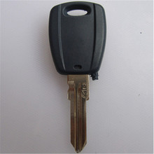 Free shipping for transponder car key shell case for Fiat Palio (can install chip) with logo