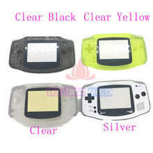 Clear Yellow Silver Limited Edition  Replacement Housing Shell Case Parts for Nintendo Gameboy Advance GBA Skin