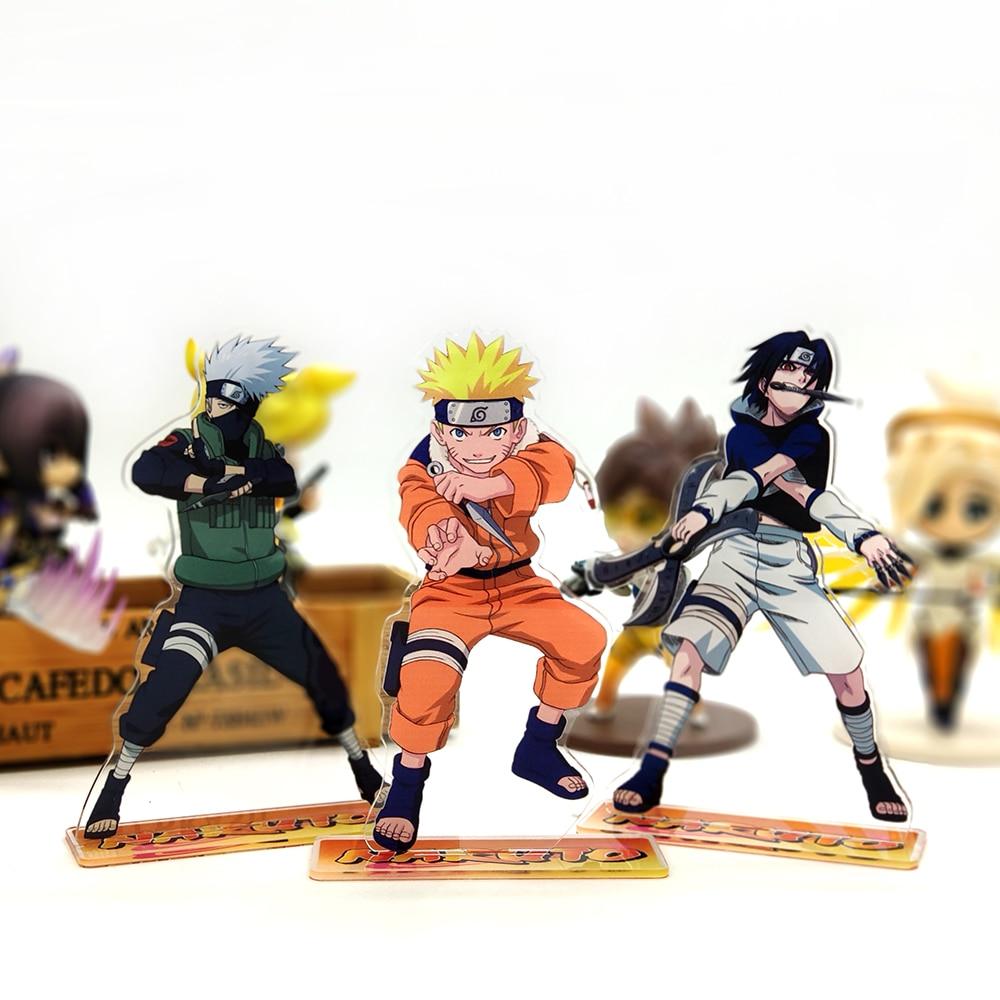 Anime Hokage Naruto Uzumaki Naruto Uchiha Sasuke F.ZERO PVC Figura Anime Manga