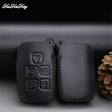 KUKAKEY Leather Car Key Case Cover Shell Fob Bag For Land Rover Freelander 2 3 Range Rover A8 A9 Discovery 2 Best Festival Gift(China)