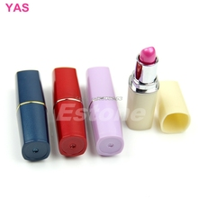 5Pcs/lot New Secret Lipstick Shaped Stash Medicine Pill Pills Box Holder -Y207 Drop Shipping