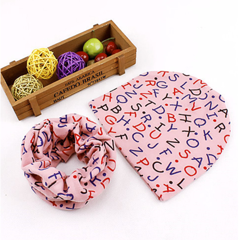 new words bottle patterns baby beanies scarf sets boys girls winter warm neckwear accessories head caps cotton hats scarves suit