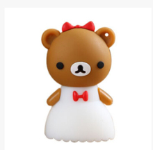 usb stickBest qualityFlash Drives of Wedding teddy bear USB Flash Drives 2.0 thumb pen drives memory stick S255(China)