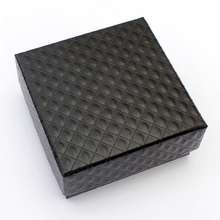 Jewelry Box Gift Boxes Jewelery Accessories Packaging For Necklace Earrings Rings Bracelets Size 7.5x7.5x3.5(China)