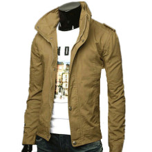 2017 New Hot Men's Jacket , Male  Zipper Coats, Stylish Fit Fashion Design Jacket, 8 Colors, Size M to 3XL