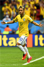 Neymar Poster Neymar JR Posters World Cup Wall Sticker Soccer Ball Wallpapers Canvas Prints Barcelona Football Stickers #2128#