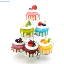 Sweettreats Best 3 Tier Cupcake Stand holding 13 Cupcakes(China)