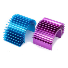 Motor Cooling Heat Sink Heatsink Top Vented 540 545 550 Size For 1/10 RC Car Buggy Crawler RC Boat HSP HPI Wltoys Himoto Redcat(China)