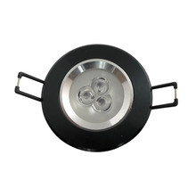 50X Wholesale top quality 3W LED ceiling light with factory supply express free shipping
