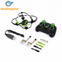LeadingStar Mini RC Quadcopter U839 3D 4CH 2.4G 6-Axle Gyro Remote Control Mini Helicopter Drones Electronic Toys For Child z35(China)
