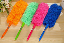 Anti Static Natural Fall Ostrich Fur Feather Duster Brush Wood Handle Household Cleaning Car Fan Furniture Dust Cleaner 5ZCF166(China)