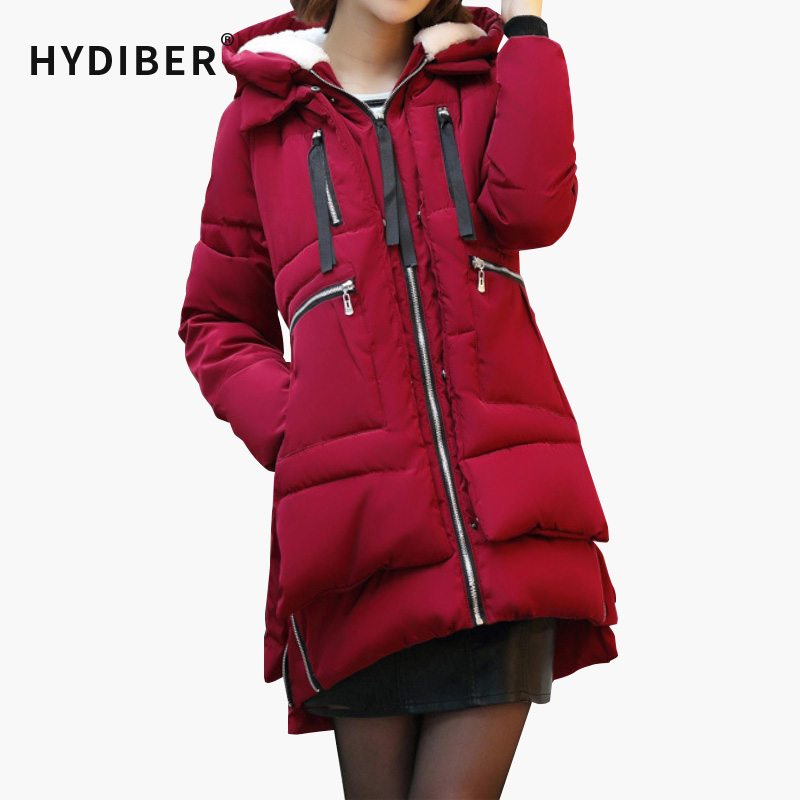 2017 winter women Wadded jacket female medium-long plus size 5XL lady thickening tooling casual down wadded coat  parkasОдежда и ак�е��уары<br><br><br>Aliexpress