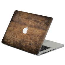 "Old wood Laptop Decal Sticker Skin For MacBook Air Pro Retina 11"" 13"" 15"" Vinyl Mac Case Notebook Body Full Cover Skin"