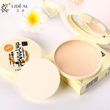 LIDEAL New Profession Powder Makeup Women Brighten Long Lasting Oil-control Matte Mineral Whitening Powder Face Wholesale makeup