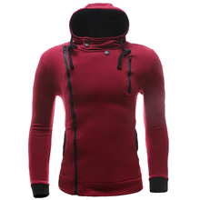 New Brand Sweatshirt Men Hoodies Fashion Solid Fleece Hoodie Mens Hip Hop Hoody Men's Tracksuits Slim Fit Men Sweatshirt