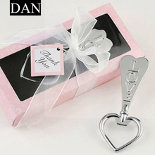 Hot Sale 1 Pieces Wedding Favors Elegant Wine Bottle Opener Corkscrew Shower With Box Love