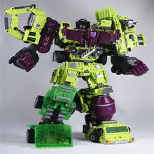 Transformation 5 NBK 01-03 Shovels Bulldozer Ko Version Gt Scraper Forklift Action Figures Robot Toys For Children Gift(China)