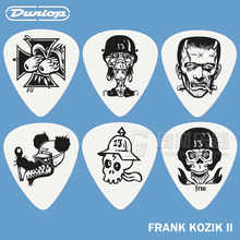 Dunlop Frank Kozik Series 2 Guitar 6 Tortex Picks Set 3 Different Gauges(China)