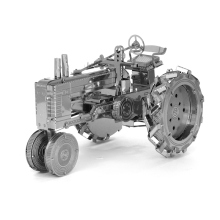3D Metal model kit Puzzle Laser cutting DIY metallic tractor model jigsaw free shipping Best gifts for Kids Toys