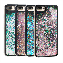 Buy Liquid Glitter Sand Quicksand Heart Case iPhone 7 7 Plus 6 6S Plus Colorful Dynamic Glitter Star Hard Phone Case Cover Shell for $2.34 in AliExpress store