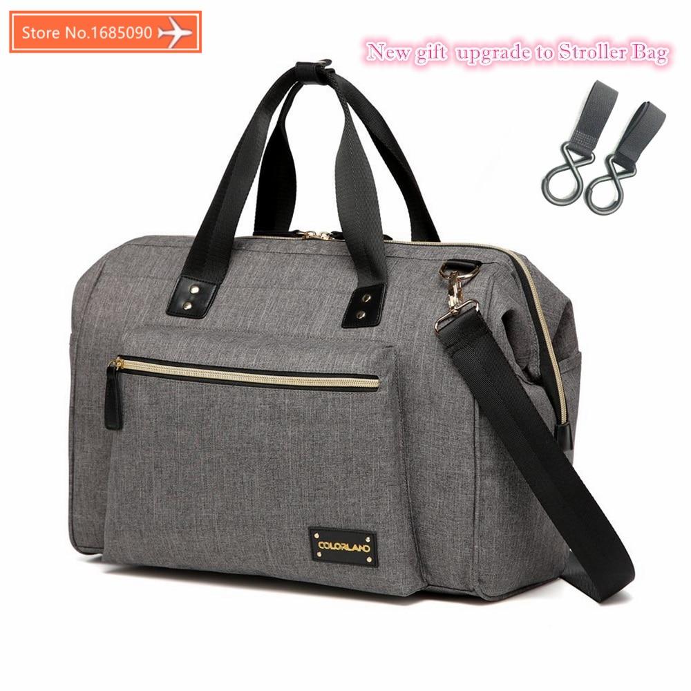 Colorland large diaper bag organizer nappy bags maternity bags for mother baby bag stroller diaper handbag bolsa maternidade<br>
