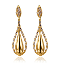 2017 crystal drop earrings for women allibaba alli express special store Wholesale jewelry earring female