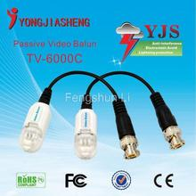 Passive UTP Network Video Balun CAT5 to Camera CCTV BNC Transceiver free shipping