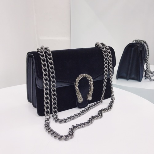 59f73c745b6 Luxury Brand Fashion Velvet Women Shoulder Bag Lady Chain Messenger  Crossbody Bags Famous Designer Lock Handbags
