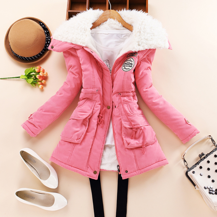 2017 New Women winter Coat cotton slim plus size outwear medium-long wadded jacket thick cotton wadded outwear warm cotton parkaОдежда и ак�е��уары<br><br><br>Aliexpress