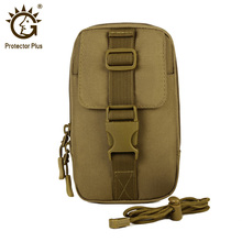 Protector Plus Tactical Waist Bag,Small Utility EDC Pouch,Army Molle Outdoor Military Tools Phone Purse Bag