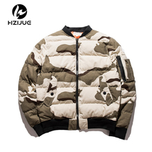 HZIJUE 2017 Air Force Men Jackets Camouflage Jacket Men Causal Outwear Jackets And Coats Mens Pockets Clothing Plus Size M-5XL(China)