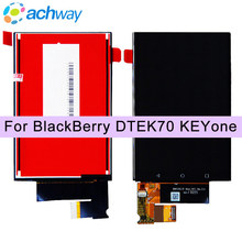 100% Tested 100% NEW Display For BlackBerry KEYone DTEK70 LCD Display 1620x1080 Pantalla Replacement For BlackBerry DTEK70 LCD(China)