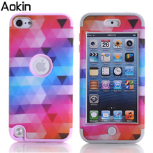 Aokin Triangle Star Case For Apple iPhone 6 6s 5C TPU Hard Hybrid Plastic Protect Shell Cases for iPod touch 5/6 back Cover