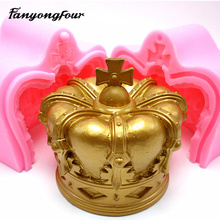 Princess Cap Silicone Mold Cake Mold Chocolate Gypsum Candle Soap Candy Mold Kitchen Bake Free Shipping(China)