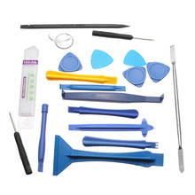19 pcs 1 Sets Opening Repair Tools Laptop Phone & Screen Disassemble Tools Set Kit For iPhone For iPad Cell Phone Tablet PC(China)